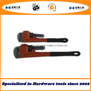 American Type Heavy Duty Pipe Wrenches with PVC Handle pictures & photos