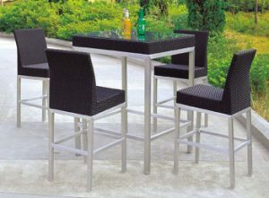 Bar Furniture Outdoor Rattan Bar Table Bar Stools pictures & photos