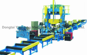 Automatic Integrated H Beam Production Line Assembling Welding Roll Straightening Machine pictures & photos