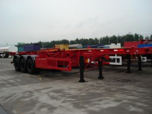 20FT Skeletal Semi-Trailer/ New Manufacture Skeleton Container Semitrailer pictures & photos