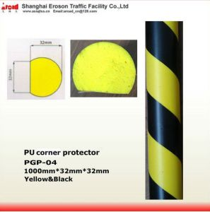 Installation Firmly Yellow/ Black PU Corner Protector Damper pictures & photos