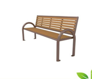 High-Density Plastic Wood Outdoor Patio Bench with Low Price