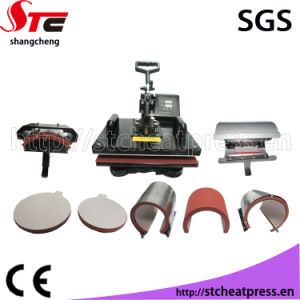 8 in 1 Heat Press Machine T Shirt Printing Machine pictures & photos
