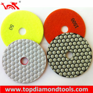 for Countertop Diamond Dry Polishing Pads pictures & photos