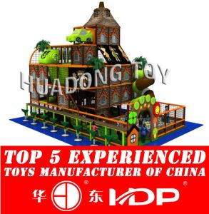 Huadong Indoor Playground New Style Ancient Tribe (HD2015B-012A) pictures & photos