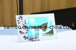 Silk Printing Glass Photo Frame (YM66857)