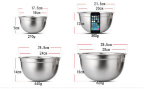 Thicken Stainless Steel Mixing Bowl Salad Bowl (SS-002) pictures & photos