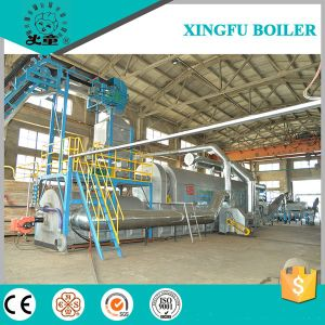 15t 20t Fully Cotinuous Waste Tire Plastic Rubber Pyrolysis Equipment pictures & photos