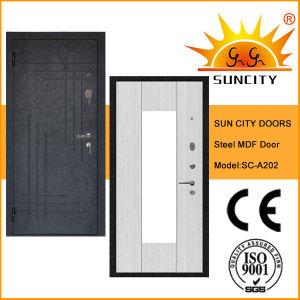 Modern Design Exterior Sun-Proof Steel Doors (SC-A202) pictures & photos