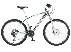 "Aluminum Mountain Bike, 26"" 30sp, White"