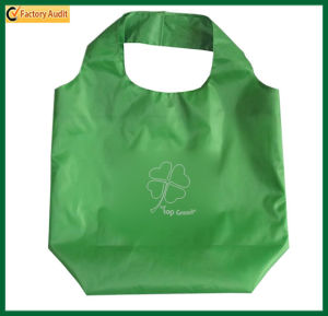 Promotional Reusable Green Polyester Tote Bags (TP-TB023) pictures & photos