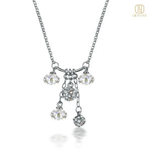 Fashion Necklace Made of Friendly Alloy (OLYN034)
