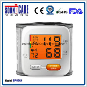 Digital Wrist Blood Pressure Monitor with Backlit (BP 60GH) pictures & photos
