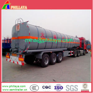 3 Axle 35-60cbm Heating Asphalt Bitumen Truck Tank Semi Trailer pictures & photos