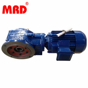 Parallel Shaft Helical Geared Motor (Foot and hollow shaft installation)