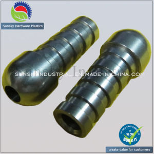 CNC Machining Parts for Stainless Steel Connector Joint (SS22012) pictures & photos