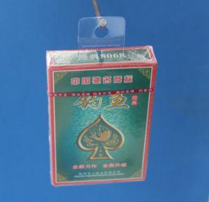 Poker Hook, Plastic Hanger, PVC/PET Hang Tab (I-253718D)