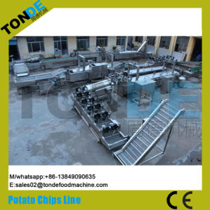 Hot Sale Fried Potato Chips Crisps Making Machine with Ce pictures & photos
