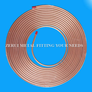 3/8X0.81mm Refrigeration Flexible Type L Copper Pipe pictures & photos