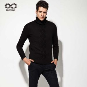 ODM Cable Knit Turtleneck Man Sweater Garment pictures & photos
