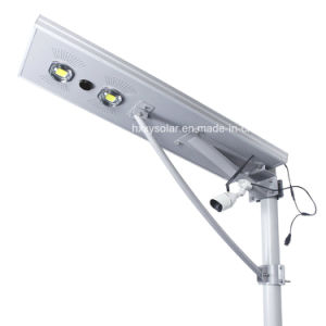 Solar Outdoor Light Integrated All In One LED Solar Street Light With CCTV  Camera