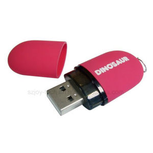 Plastic USB Black Drive with Custom Logo for Promotion pictures & photos