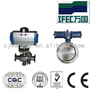 Sanitary Stainless Steel Pneumatic Actuators pictures & photos