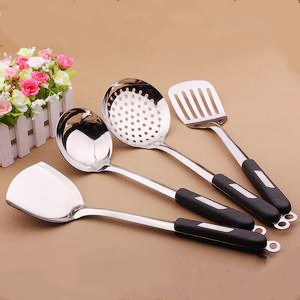 Set of Stainless Steel Kitchen Tools