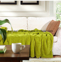 Soft High Quality Blanket Sr-B170212-26 Two Sides Sherpa Blanket pictures & photos