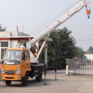 Small Combined 6.0ton Truck Crane pictures & photos