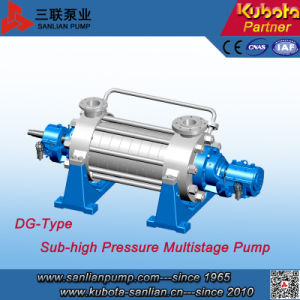 Dg Type Hot Water High Pressure Horizontal Centrifugal Multistage Pump pictures & photos