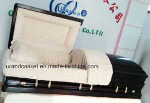 High Gloss Hot Sale Solid Poplar Casket
