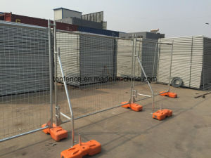 Budget Temporary Fencing Panels 2100mm X 2400mm Hot Dipped Galvanized to Be 42 Microns pictures & photos