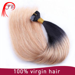 Wholesale Raw Unprocessed Virgin Hair Peruvian Straight Ombre Human Hair pictures & photos