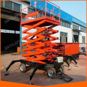 Hydraulic Electric Scissor Man High Lift Aerial Platform pictures & photos
