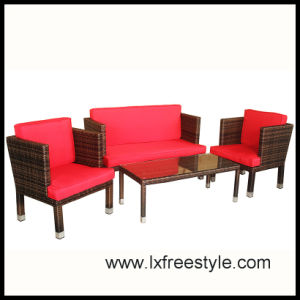 2014 Hot Sales Garden Sofa Set / Outdoor Wicker Furniture (SF-011)