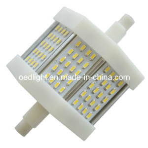 78mm 6W R7s 3014 LED Spotlight with Aluminum Radiator (S557806W)