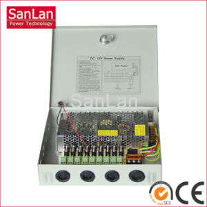 9 Channel Output CCTV Camera Switching Power Supply