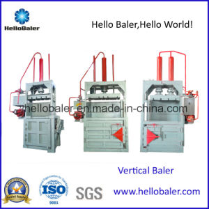 Hellobaler Hydraulic Vertical Plastic Baling Machine pictures & photos