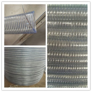 Steel Wire Spiral Reinforced PVC Suction Hose pictures & photos