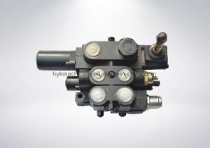 Hydraulic Sectional Multiway Control Valve with Lifting 2 Spools pictures & photos