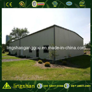 Prefabricated Steel Structure Car Garage Building (LS-SS008) pictures & photos