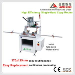 Aluminum Window Machine High Effeciency Single-Head Copy Router 370X125 pictures & photos