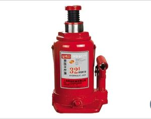 32 Ton SGS Approved Max Height 465mm Hydraulic Bottle Jack