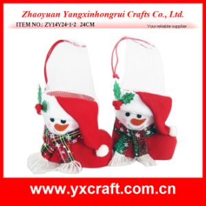 Christmas Decoration (ZY14Y24-1-2) Snowman Boots Decoration Vase pictures & photos