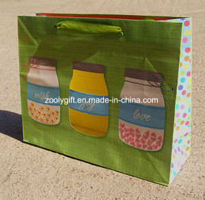 Fsc Certificated Printing Paper Gift Bag Custom Craft Paper Bag pictures & photos