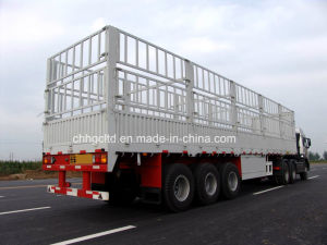 Stake Fence Bulk Cargo Transport Semi Trailer for Sale pictures & photos