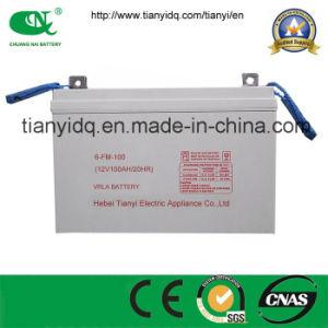 12V100ah Industrial VRLA Gel Battery for UPS Backup Power Supply