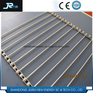 Professional Stainless Steel 304 Wire Woven Spiral Mesh Grid Belt pictures & photos