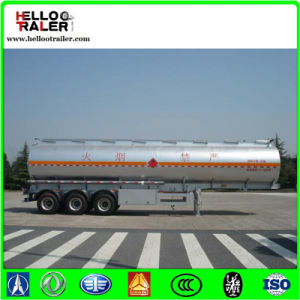 3 Axle Oil Tank Truck Trailers / Diesel Tank Trailer Truck pictures & photos